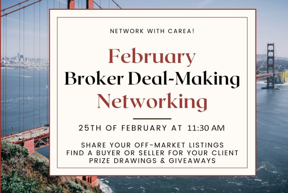 Broker Deal-Making Networking